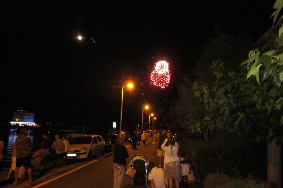 La Tammissery Fireworks Before La Bastille Day