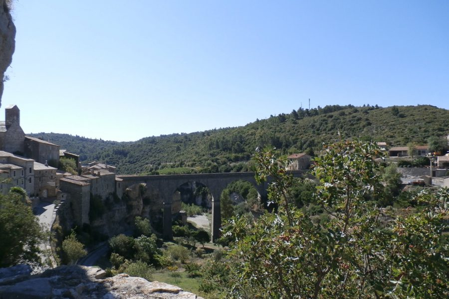 view from Minerve