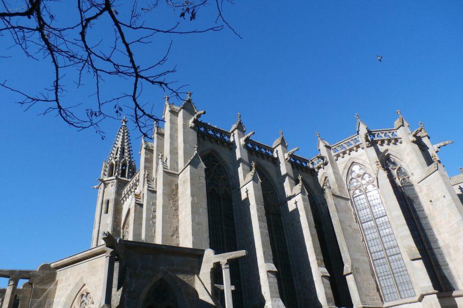 la citie carcassonne cathedral