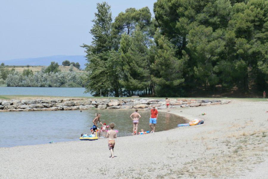 lac du jourres, Olanzac